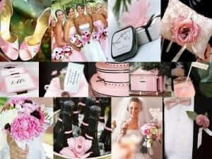 blush pink wedding theme