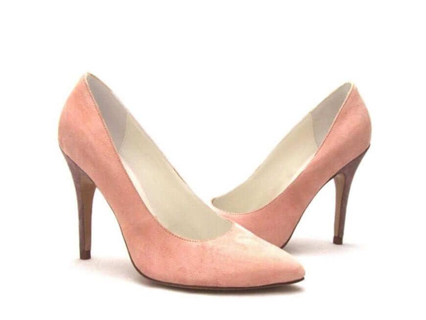 Rose Pink Statement Wedding Shoe