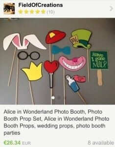 Photo a Booth Props