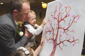 Thumb Print Canvas Weddings