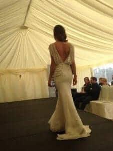 Jenny Packham Bardot - Back