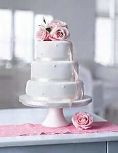 Marks and Spencers Wedding Cake