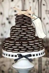 Oreo Cookie Wedding Cake