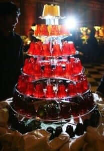 Jelly Wedding Cake