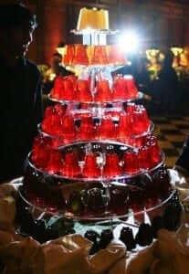 Jelly Wedding Cake