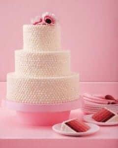 Ombre Wedding Cake - Martha Stewart