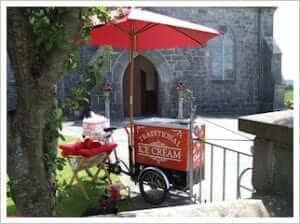 Wedding Ice Cream Cart