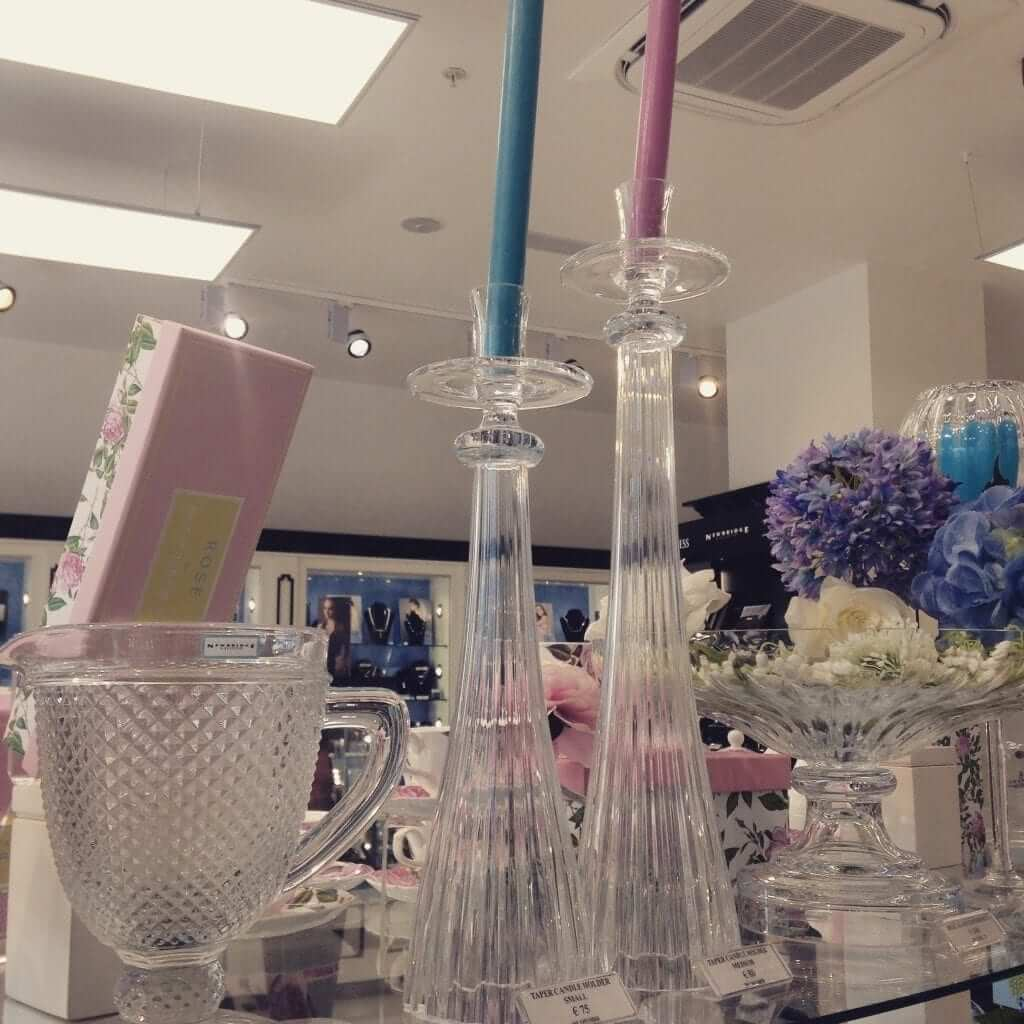 Newbridge Glassware - Candle Sticks