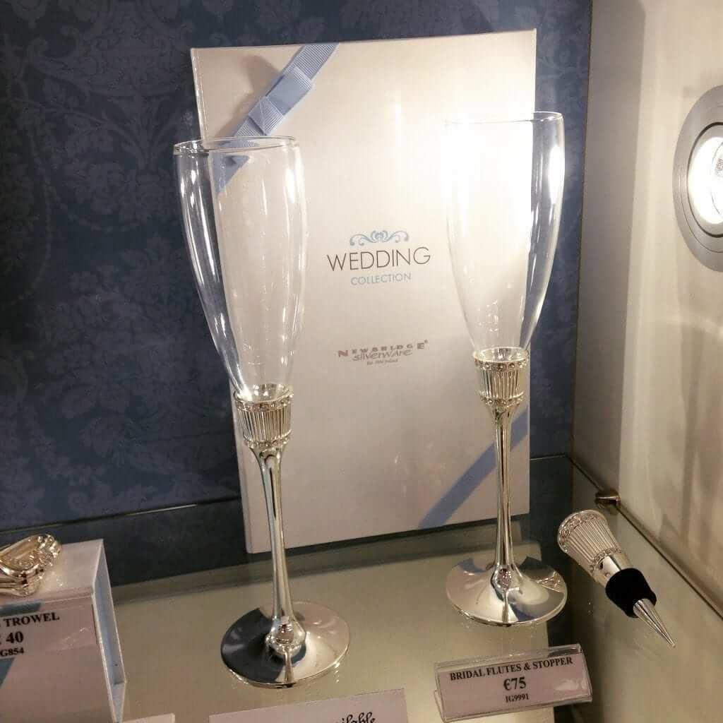 Newbridge Silverware Champagne Flutes