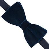 Thomas Pink Velvet 'Ready To Wear' Bow Tie