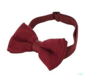 Hammond & Co by Patrick Grant Large Knitted Bow Tie