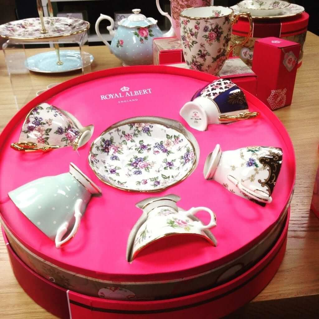 Arnotts Royal Albert Tea Set