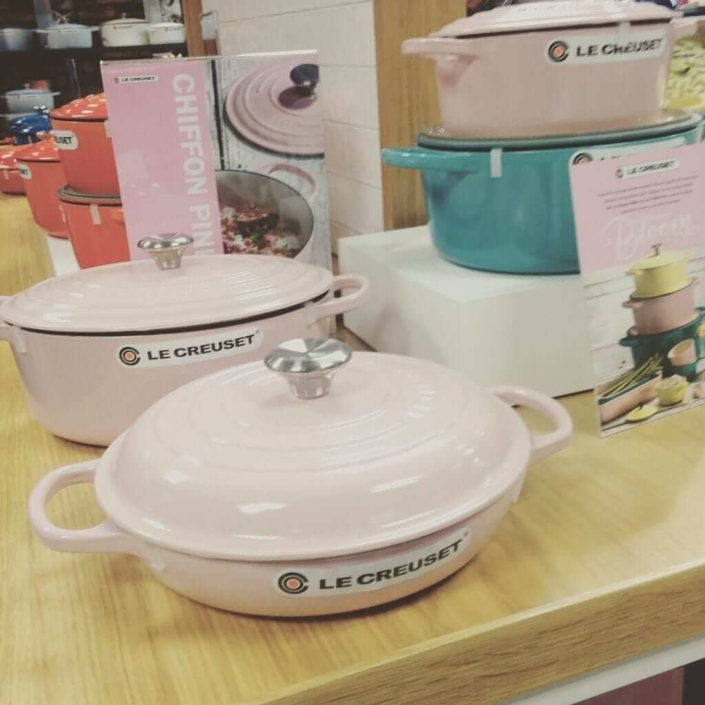 Arnotts Baby Pink Le Creuset
