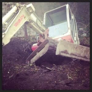 The Digger in the Septic Tank