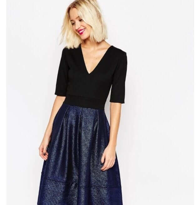 Asos wedding guest dress