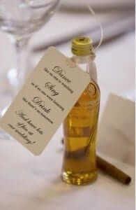 Courvoisier Wedding Favours