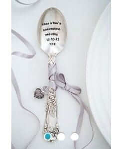 wedding favour personalised spoon