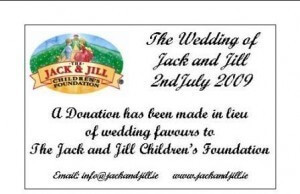 Jack And Jill Wedding Favours