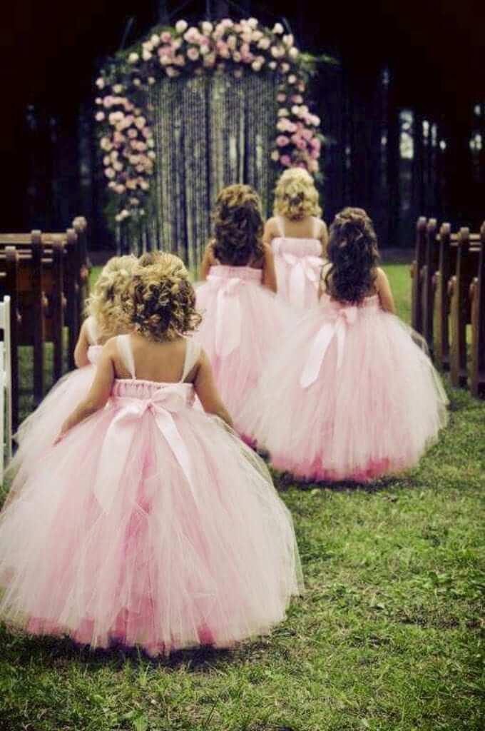 Little dreamers tutus flower girl dresses