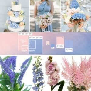 wedding pantone colours 2016 2017
