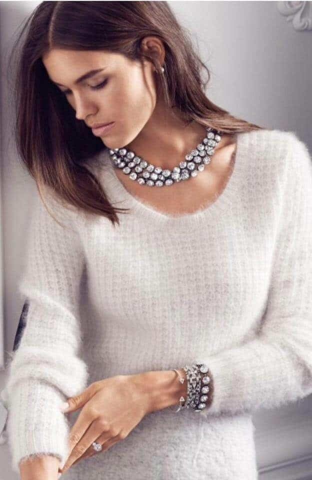 Vintage Crystal Necklace €89