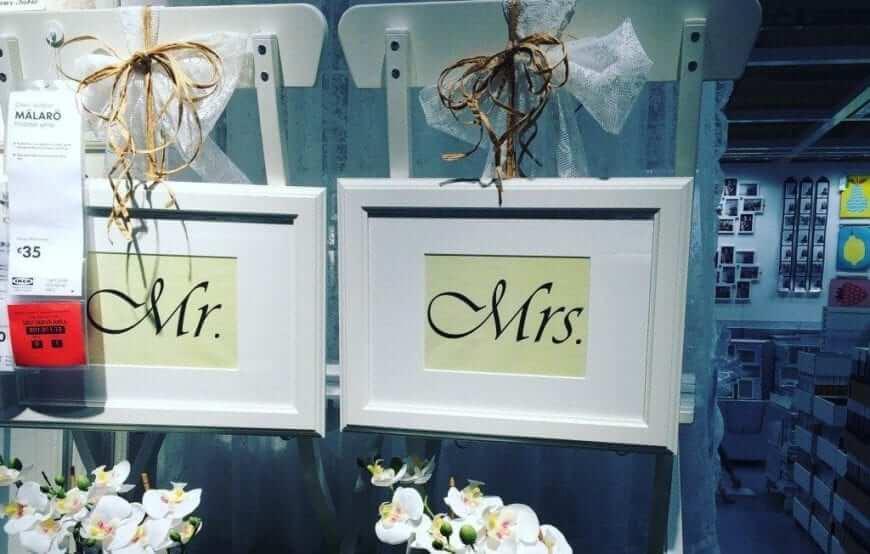 Ikea Wedding Inspiration Irish Wedding Blog