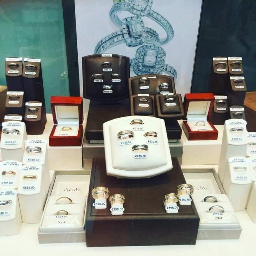 wedding rings fields jewellers