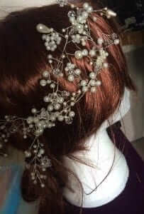 treats and trinkets wedding hair vines