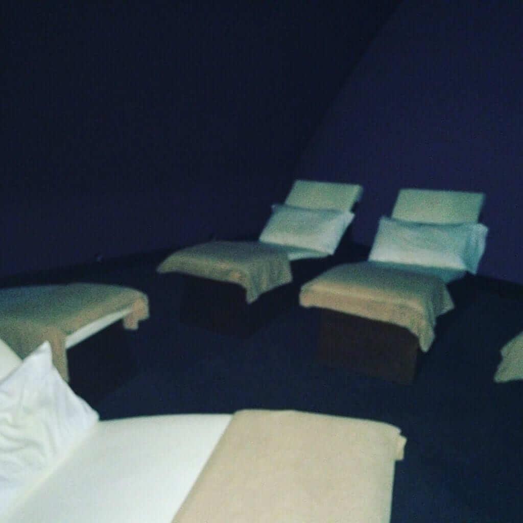 Dark Relaxation Room