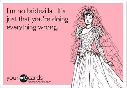 Image result for bridezilla