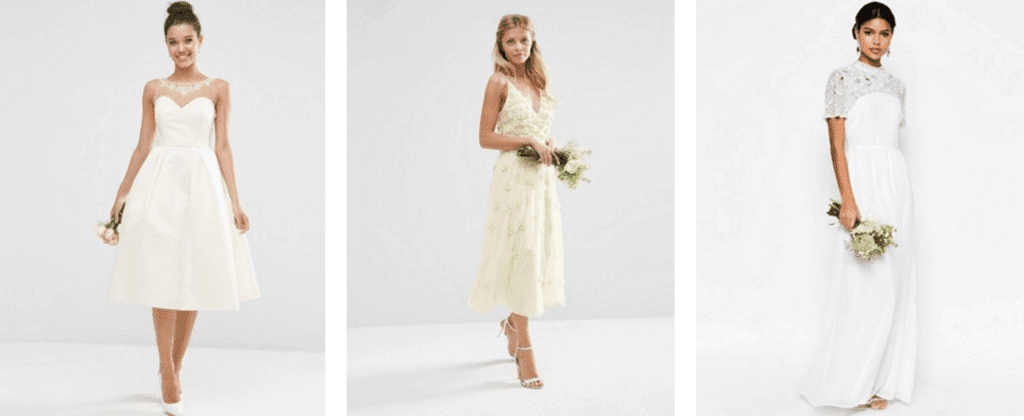 asos wedding dresses