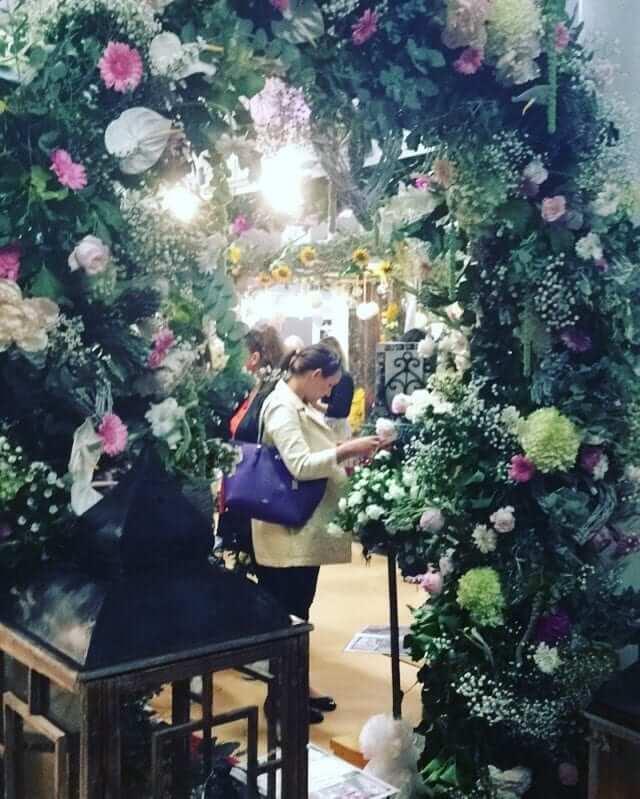 Floral Arch Carraig Flowers