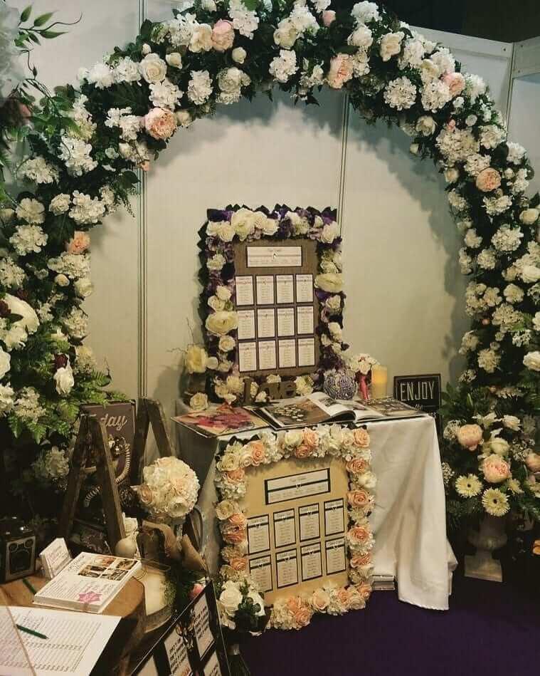 Floral Table Plans