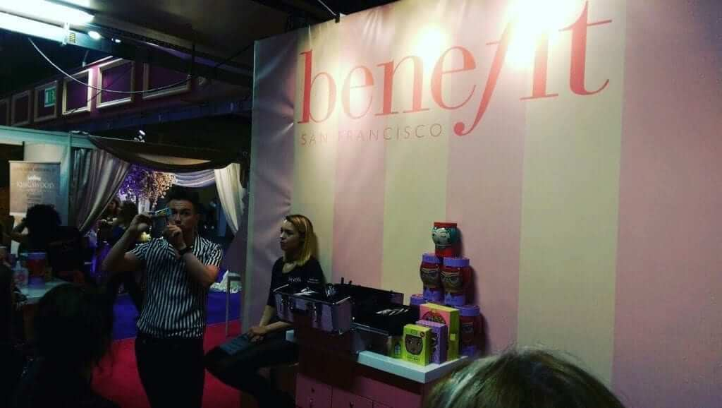 Benefit Makeup Demo