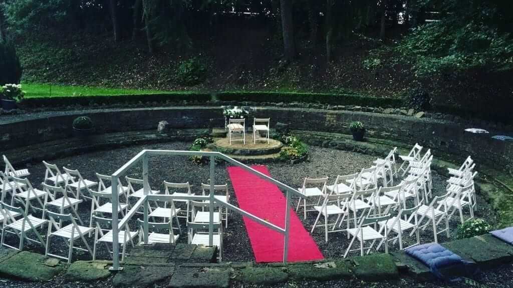 Civil Ceremony in the Turn Table