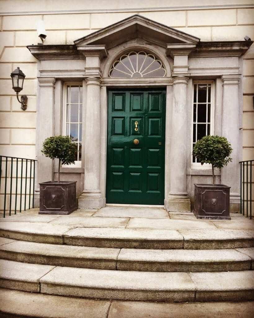 Georgian House Entrance