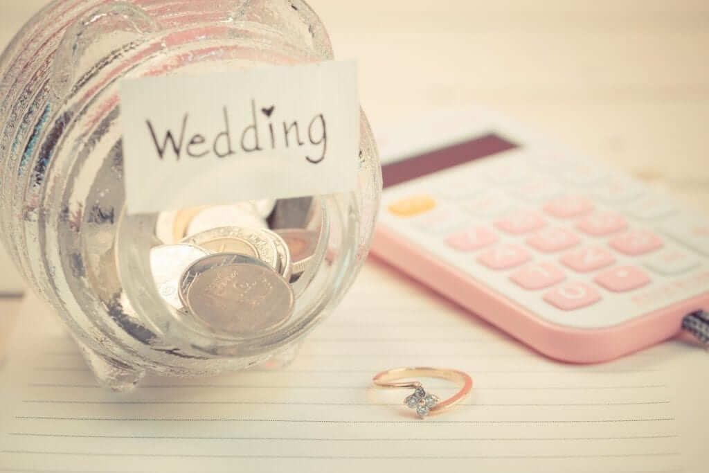 saving for a wedding