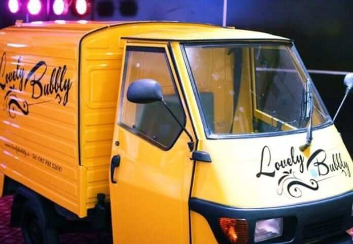 lovely bubbly prosecco van