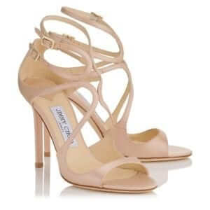 Jimmy Choo - Lang Blush Dusty Rose Shoe