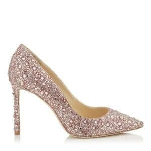 Jimmy Choo - Romy 100 Blush Dusty Rose Shoe