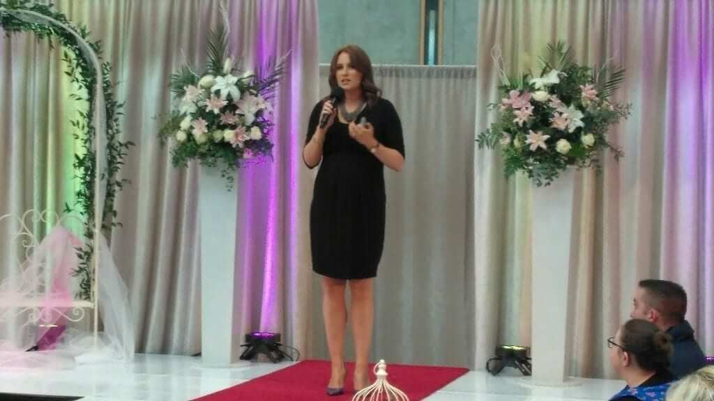 Giving my wedding trends talk