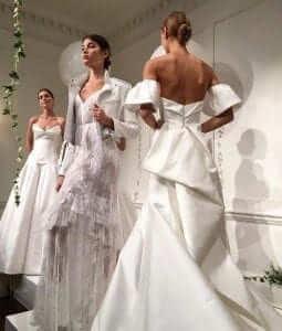 monique lhullier new york bridal fashion week