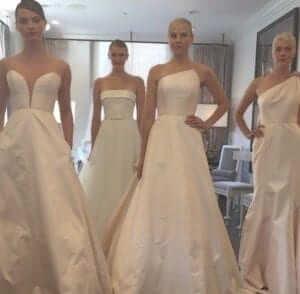 Romona Keveza new york bridal fashion week
