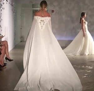 Justin alexander new york bridal fashion week