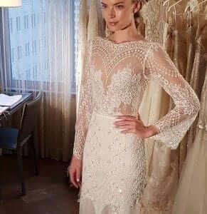 Lian rokman New York bridal week