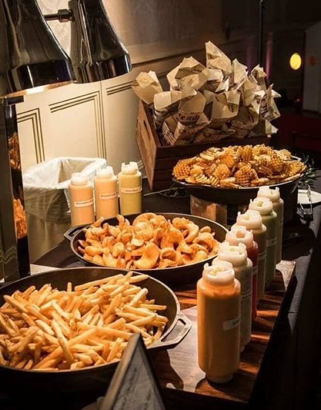 Wilkie Blog / Arising Images - Chip & Waffle with Dip Station