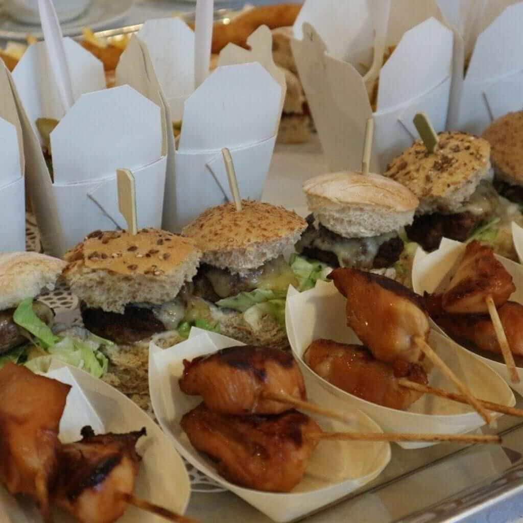 Killeshin Hotel - Mini Burgers & Chicken Skewers