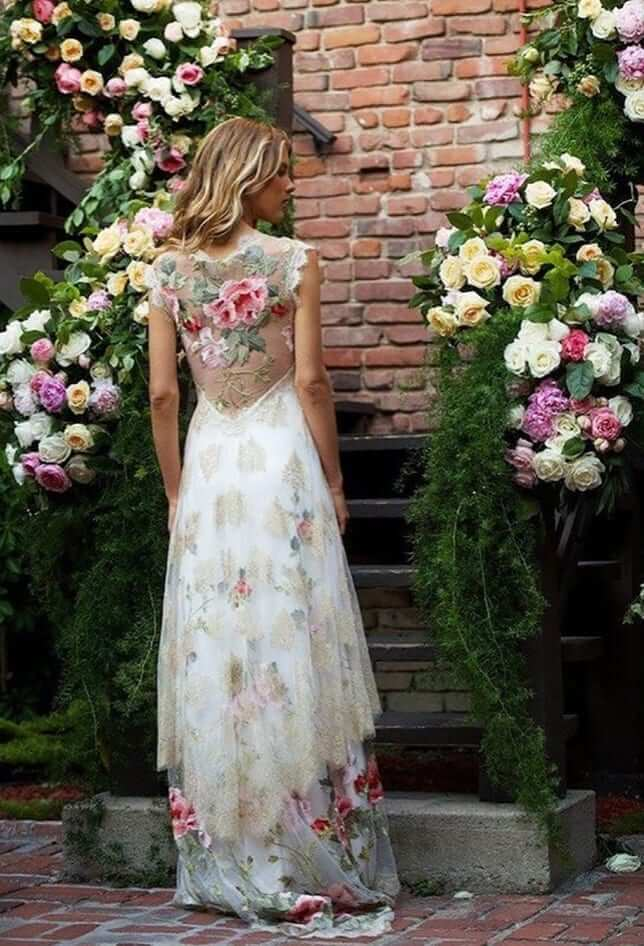 floral wedding theme