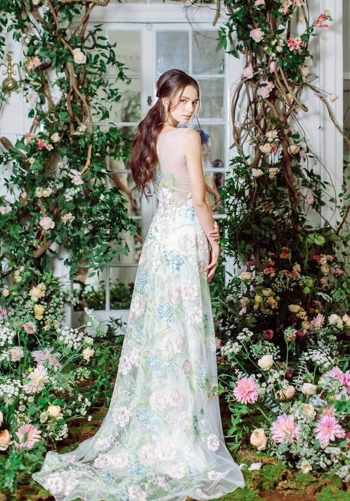 floral wedding theme