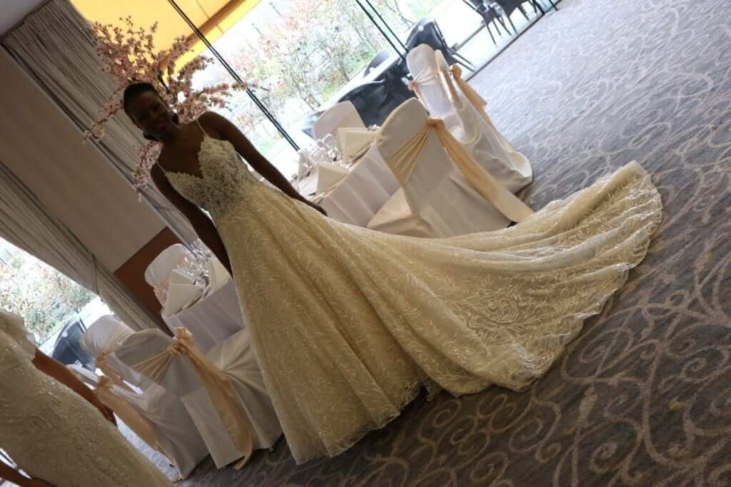 Jasmin Bridal Sparkling Wedding DRess